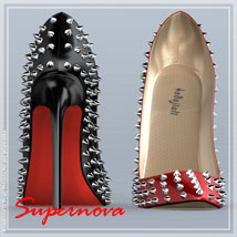 Rocky Heels 3D Figure Essentials -supernova-