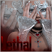 Lethal for Gothic Gloves Clothing Themed Accessories Sveva
