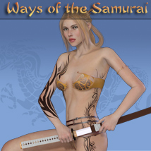 Ways of the Samurai 3D Figure Assets AltCore