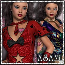 Asami Clothing Themed sandra_bonello