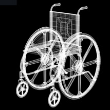 Wheelchair (for Poser and Vue) image 6