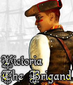 Victoria, the Brigand Clothing Themed Cybertenko