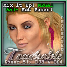 Touchable Romantic Tail Themed Hair -Wolfie-