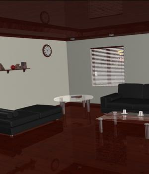 3D Assets: Living Room Props/Scenes/Architecture Themed Software Imaginary_House