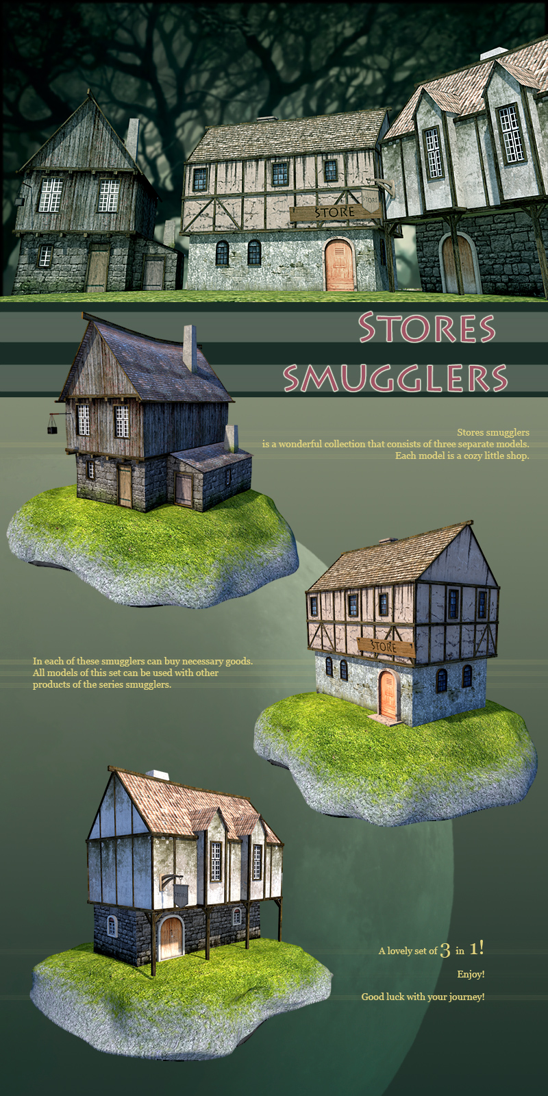 Stores smugglers