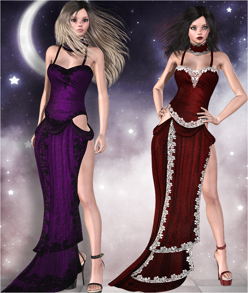 Lady In Red Dress for V4, A4, G4, S4 & Elite