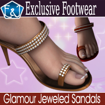Glamour Jeweled Sandals Footwear Themed EmmaAndJordi
