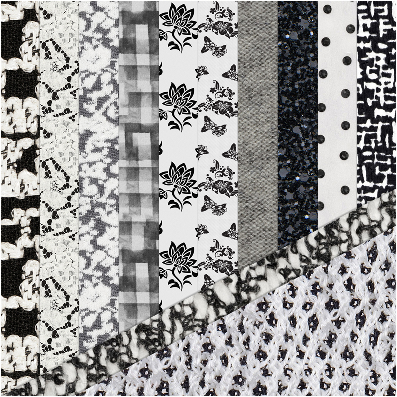 Digital Patterns - Black & White