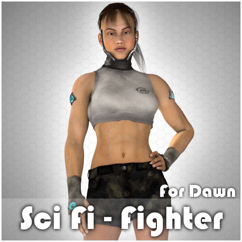 Sci Fi - Fighter for Dawn