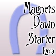 Dawn Starter Morph Magnets 3D Figure Essentials Lyrra