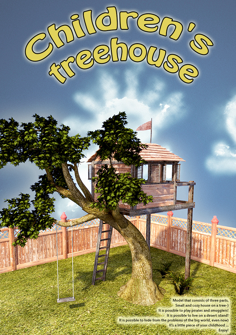 Children's treehouse