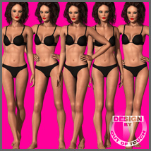 TOPMODEL Morphs & Poses for Dawn 3D Figure Assets 3D Models outoftouch