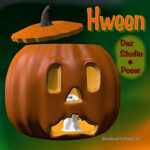 Hween the Pumpkin 3D Models pappy411