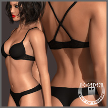 Dawn's Lingerie 3D Models 3D Figure Essentials outoftouch