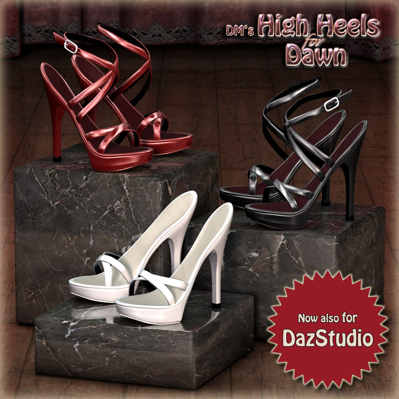 DM's High Heels for Dawn by DM