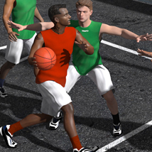 WM Streetball - poses for M4 Gaming 3D Figure Essentials santuziy78