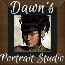 Dawns Portrait Studio Props/Scenes/Architecture Software Poses/Expressions KarenJ
