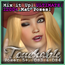 Touchable Buenaventura Hair Themed -Wolfie-
