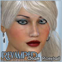 Revamped Glam Ponytail 3D Figure Essentials Freja
