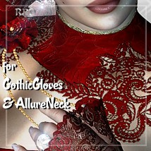 GothicGloves & NeckAllure - Romance Clothing Software Themed Accessories renapd