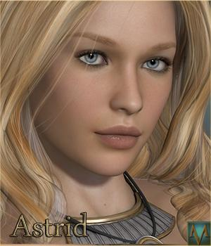 MRL Astrid 3D Models 3D Figure Essentials Mihrelle