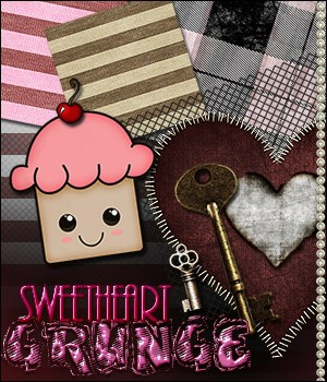MR - Sweetheart Grunge 2D Graphics Merchant Resources Sveva