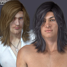 Leiko  Hair for M4 and G1 image 2