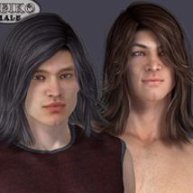 Leiko  Hair for M4 and G1 image 4