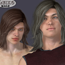 Leiko  Hair for M4 and G1 image 5
