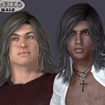 Leiko  Hair for M4 and G1 image 8
