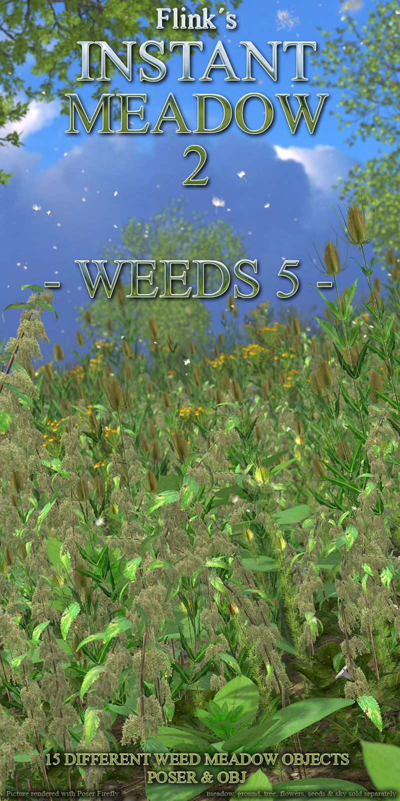 Flinks Instant Meadow 2 - Weeds 5