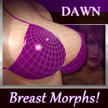 Dawn Ultimate Breasts Shapes - Merchant Resource Software Characters Morphs/Deformers Xameva