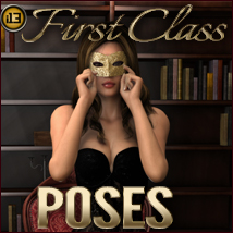 i13 FIRST Class POSES 3D Figure Assets 3D Models ironman13