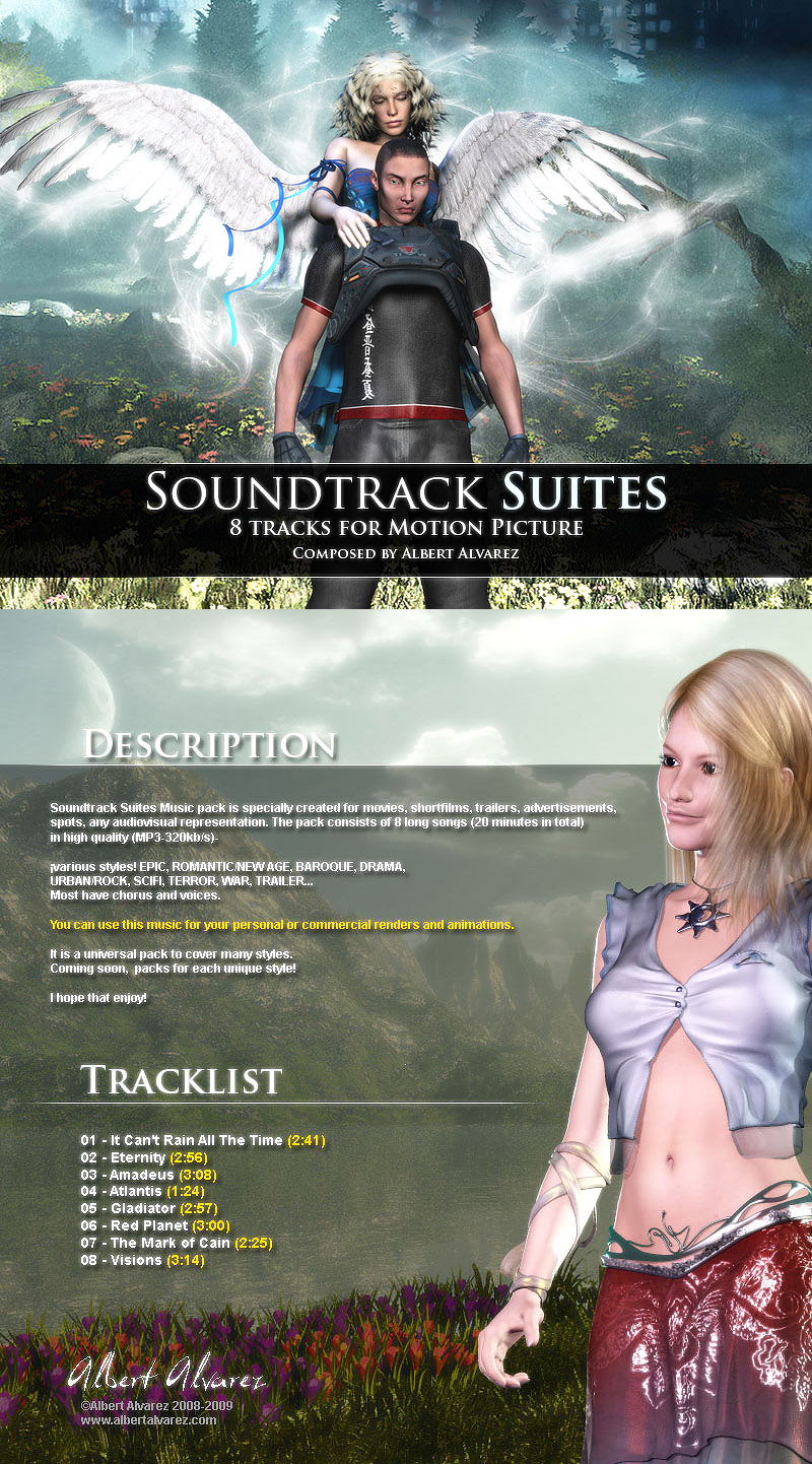 Soundtrack Suites Music Pack