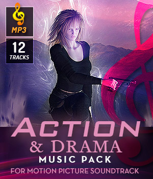 Action & Drama Music Pack 3D Models DemianFox
