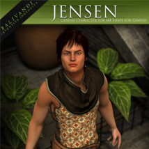 Jensen for Genesis 3D Figure Essentials Balivandi