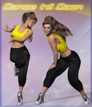 Dance Till Dawn 3D Figure Assets 3D Models ilona