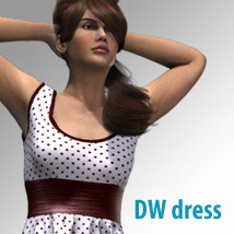 DWdress for Dawn 3D Figure Assets kobamax