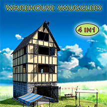 Warehouse smugglers Props/Scenes/Architecture Themed 1971s