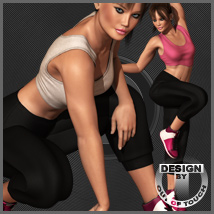 Beat Babe Outfit for Dawn 3D Figure Essentials 3D Models outoftouch