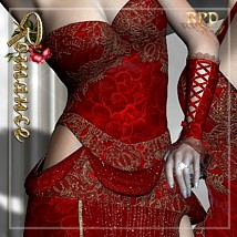 Lady in Red - Romance Clothing Themed Software renapd
