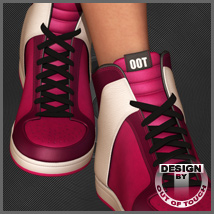 Beat Babe Shoes for Dawn 3D Figure Assets outoftouch