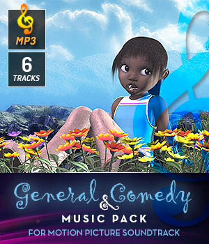 General & Comedy Music Pack 3D Models DemianFox