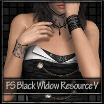 FS Black Widow Resource V 2D 3D Models FrozenStar