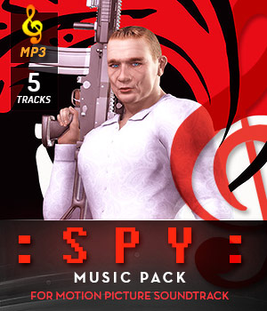 Spy Music Pack 3D Models DemianFox