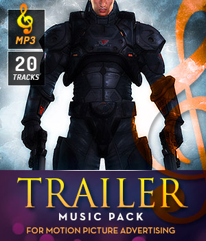 Trailer Music Pack 3D Models Music-Soundtracks-FX DemianFox
