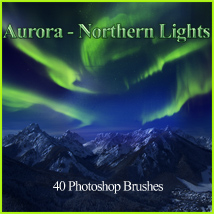 FS Aurora - Northern Lights 2D 3D Models FrozenStar