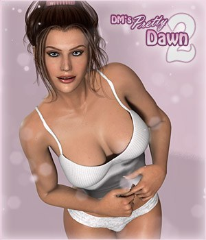 DM's Pretty Dawn 2 3D Figure Essentials 3D Models DM