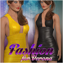 Fashion for Verona 3D Figure Essentials 3D Models Atenais