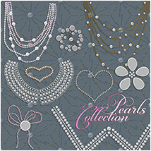 Pearls Collection 2D Graphics Atenais